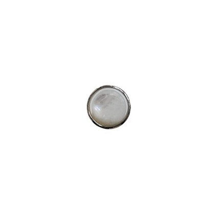 10mm Rock Crystal on Pearl