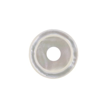 28mm Rounded Pearl Disc