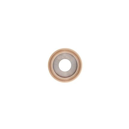 20mm Rounded Rose Gold Disc