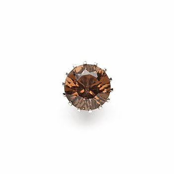 CROWN-smoky quartz-10mm