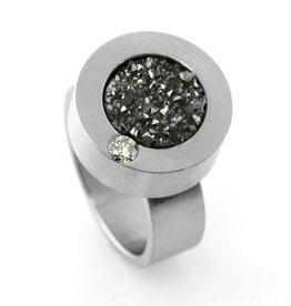 diamond orbit . ring