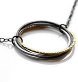 FAIRMINED 22k gold 'interconnected' . necklace