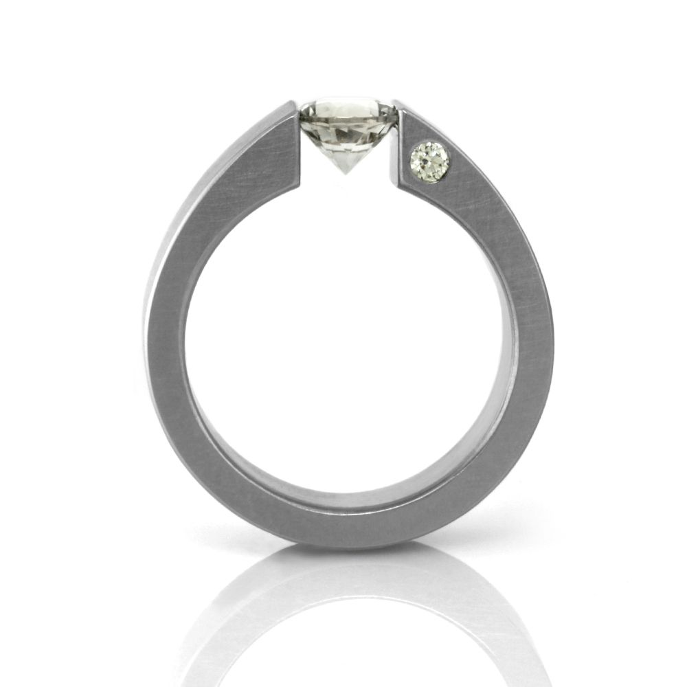 'the one' tension-set (round) . ring
