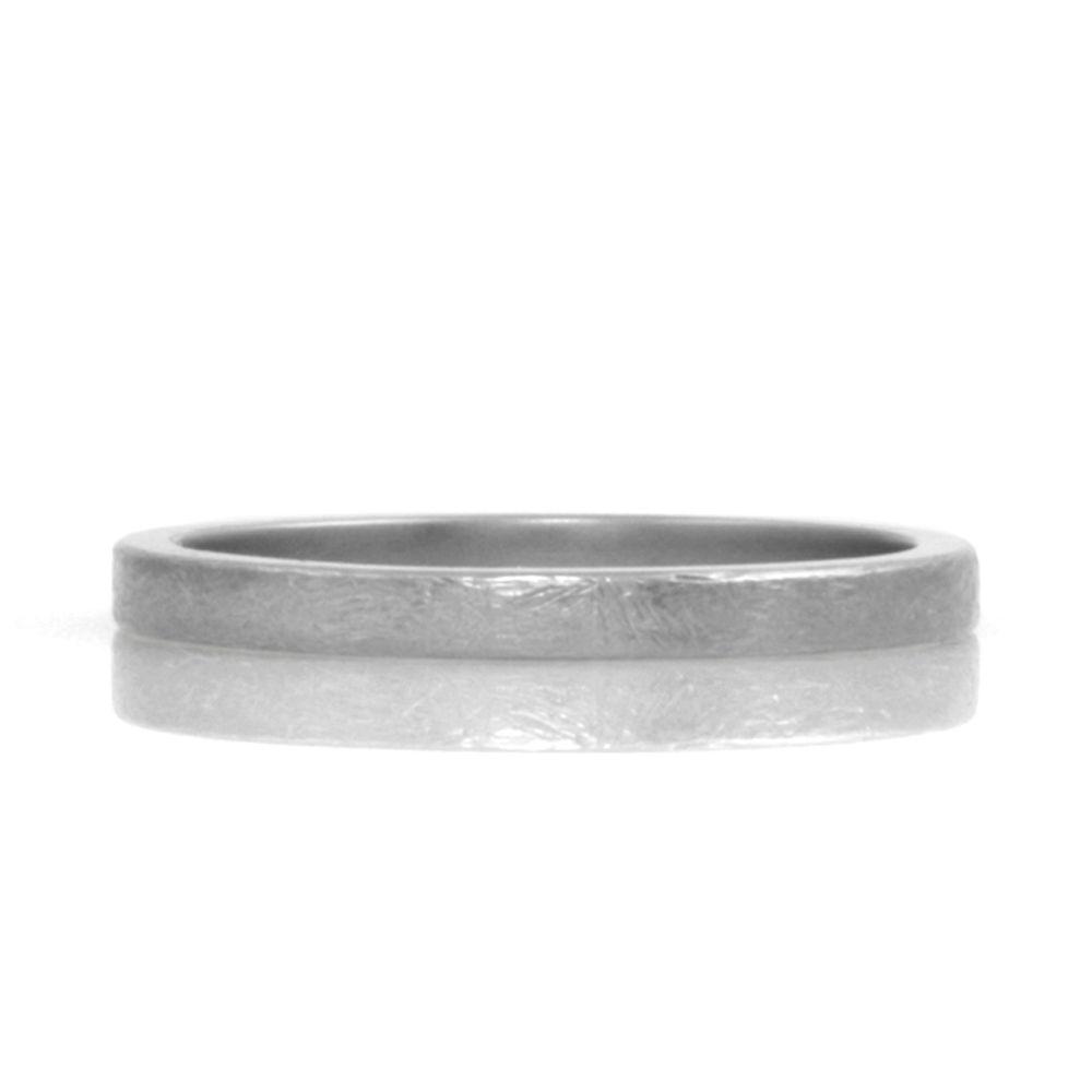 rustic finish narrow band . ring