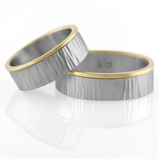 men's 'corona' band . ring