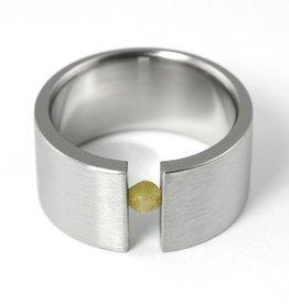 raw tension-set . ring (sz: 11.5)
