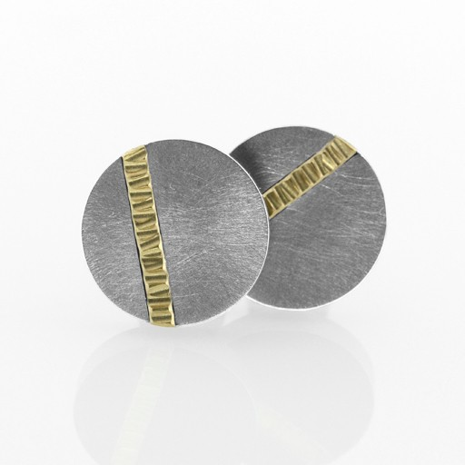 line of light amulet . cufflinks