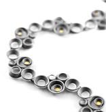 concave ~ convex FAIRMINED gold . bracelet