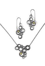 concave ~ convex FAIRMINED . necklace