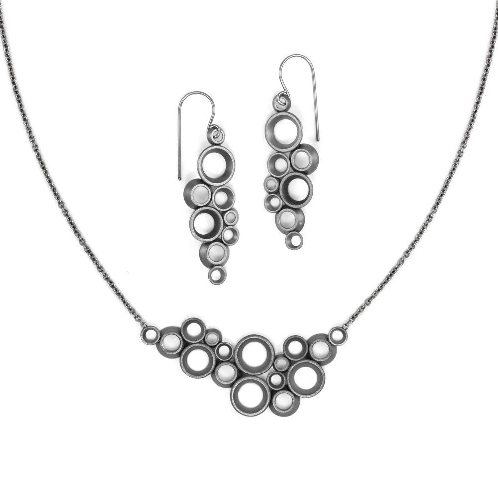 concave ~ convex prime . earrings