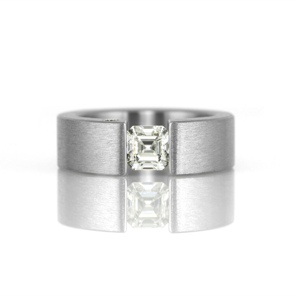 the one tensionset square ring kara daniel Jewelry
