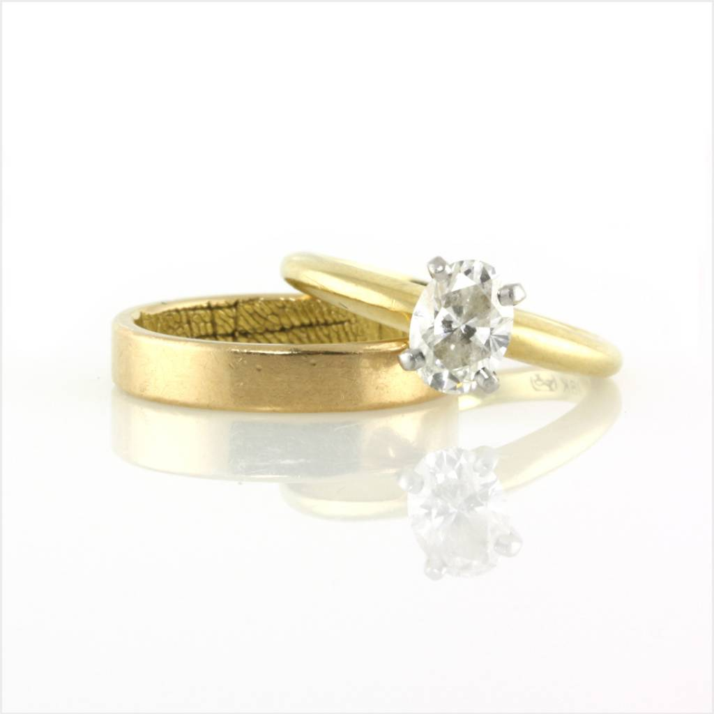 G Set Engagement Ring Re Envisioned
