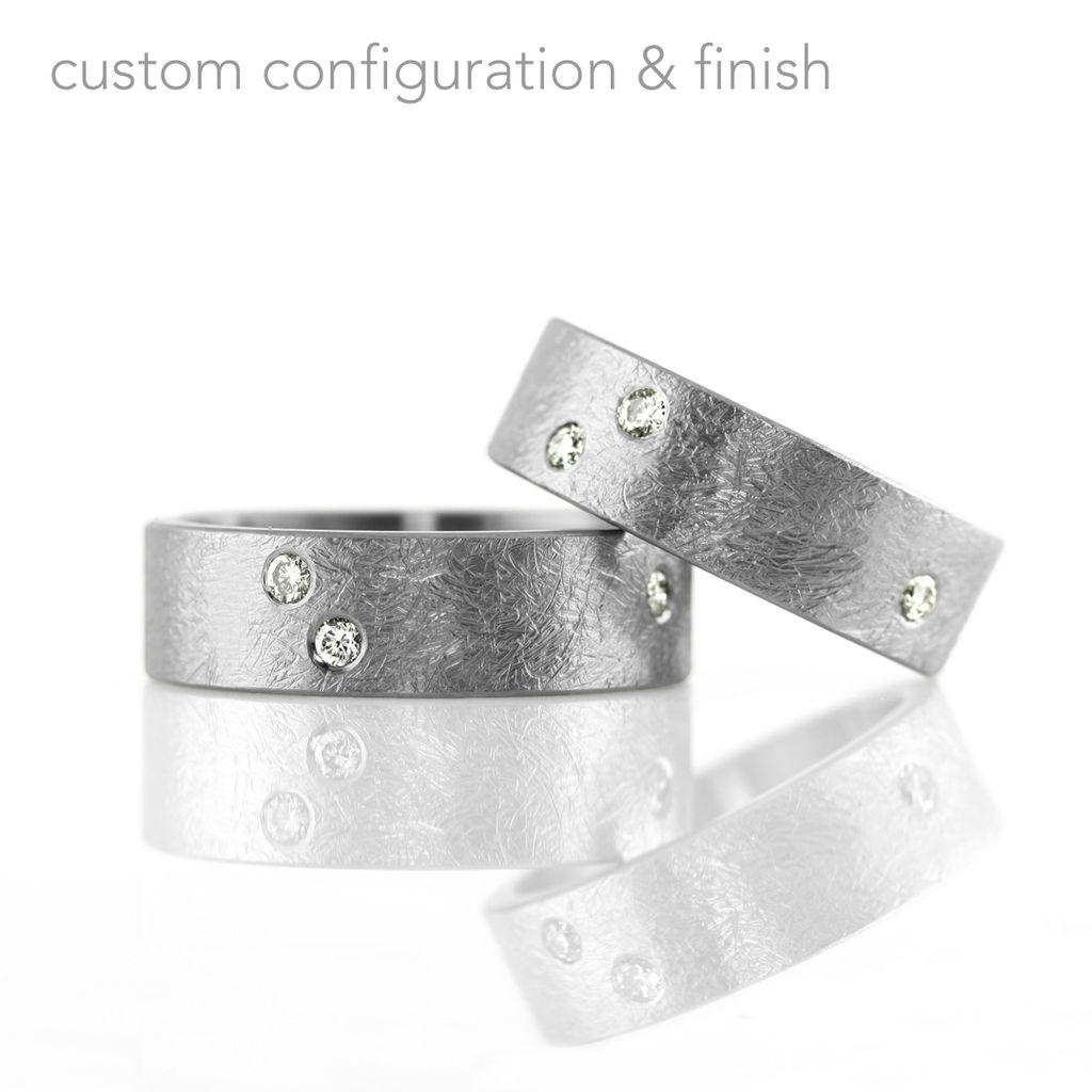Fabulous flush-set diamond . ring - kara | daniel Jewelry RK53