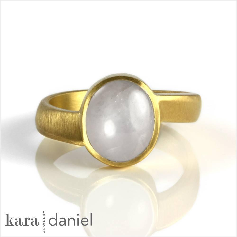 white sapphire jyotish ring