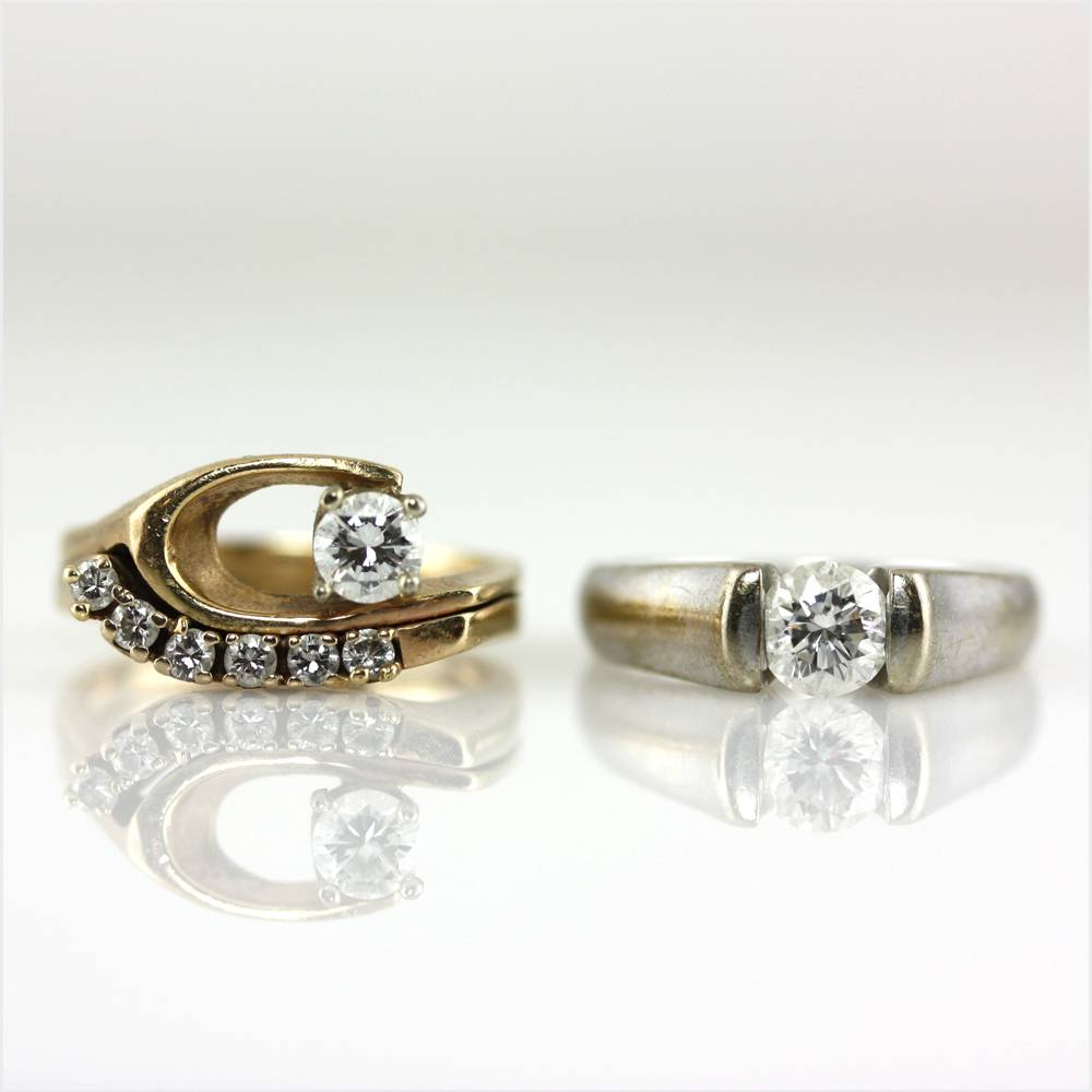 vintage rings re-envisioned