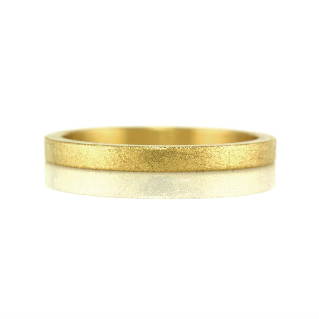 rustic 22k gold . ring (2mm)