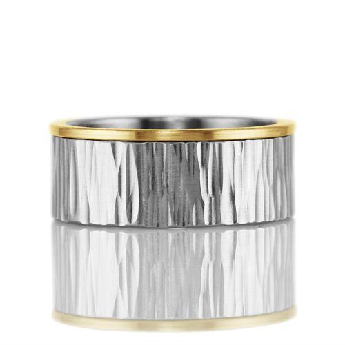 men's 'corona' band . ring