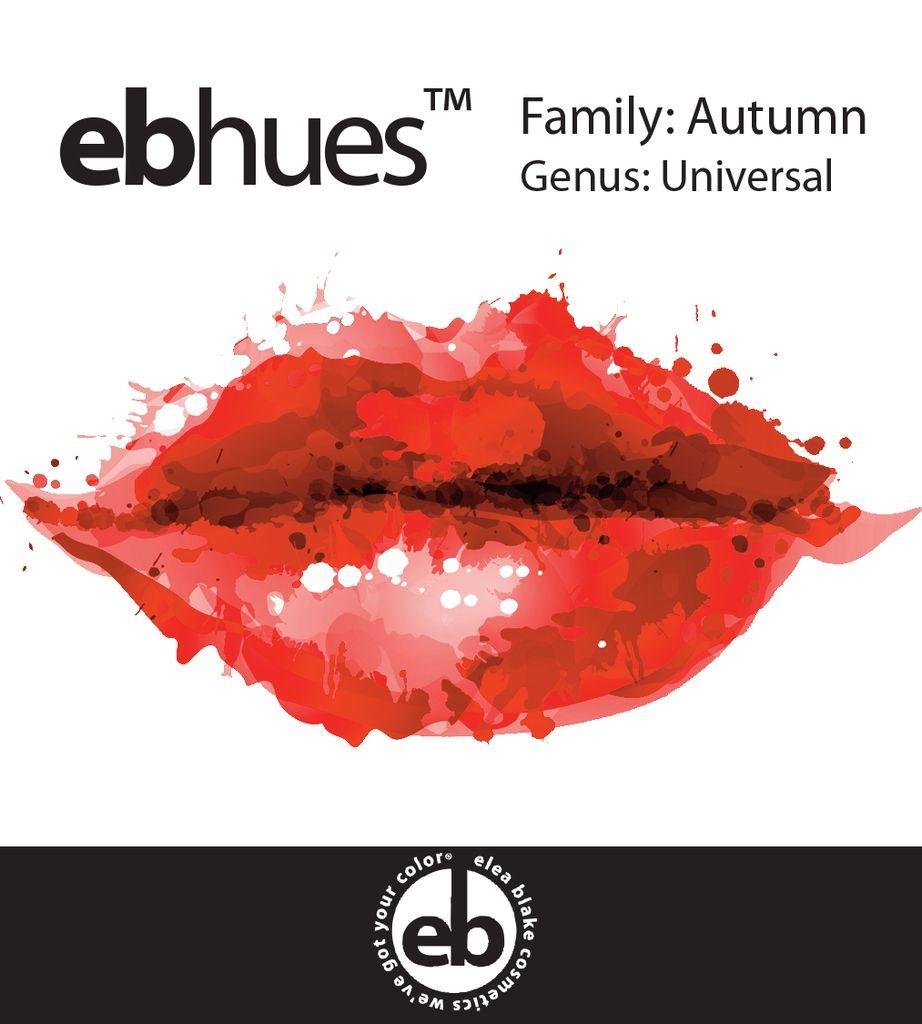 Autumn [Orange] Universal Autumn Lip Palette