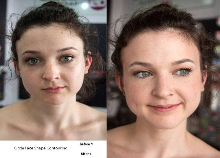 Contouring For Round Faces