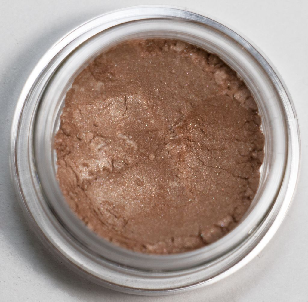Just natural eye shadow