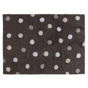 Lorena Canals USA, Inc Rug Polka Dots/Topos Tricolor Gray Elephant