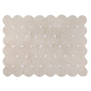 Lorena Canals USA, Inc Rug Scalloped Edge Galetta Crema/Beige