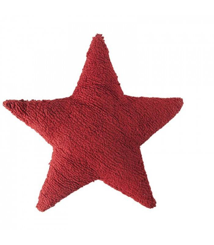 Lorena Canals USA, Inc Lorena Canals Pillow, Cushion Star Red