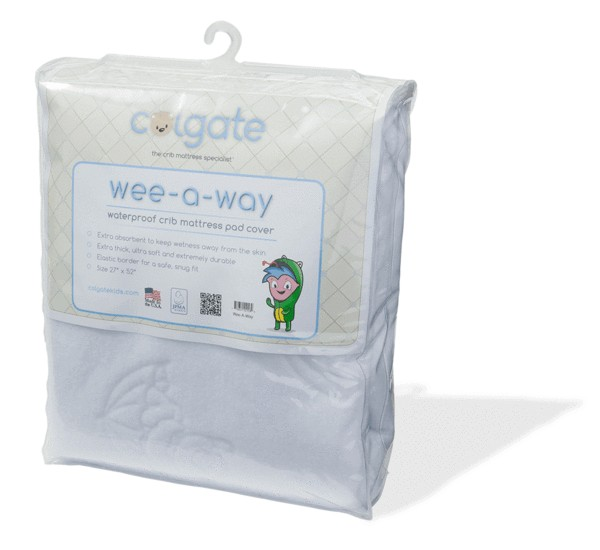 Colgate Mattress Colgate Wee-a-Way Waterproof Crib Cover-Fitted