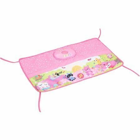 Fisher-Price Fisher-Price Woodland Friends Twinkling Lights Crib Rail Soother, Pink