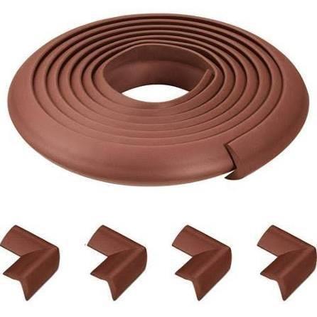 Munchkin Munchkin Complete Edge and Corner Cushion Kit, Brown
