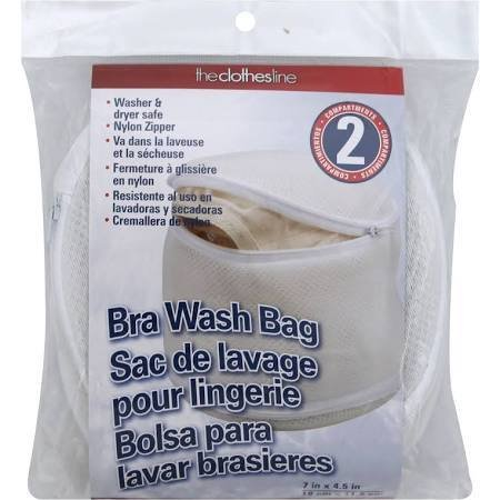 MLM Home Products Household Essentials Dual Bra Wash Bag, Multicolor