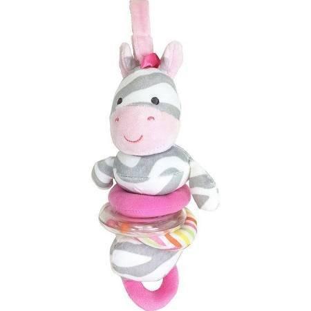 Carter's Carter's Zebra Plush Activity Toy, Gray (Girl's)