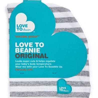 Love to Dream Love to Swaddle Up Beanie - Gray, Grey