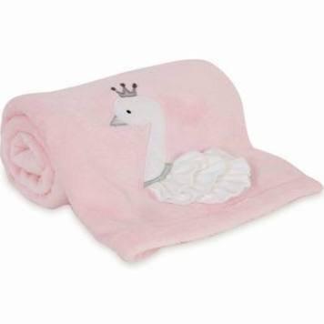 Lambs & Ivy Swan Lake Blanket, Multi - Blanket
