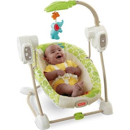 Fisher Price Y8649 SS SWG,RAINFOREST FRIENDS