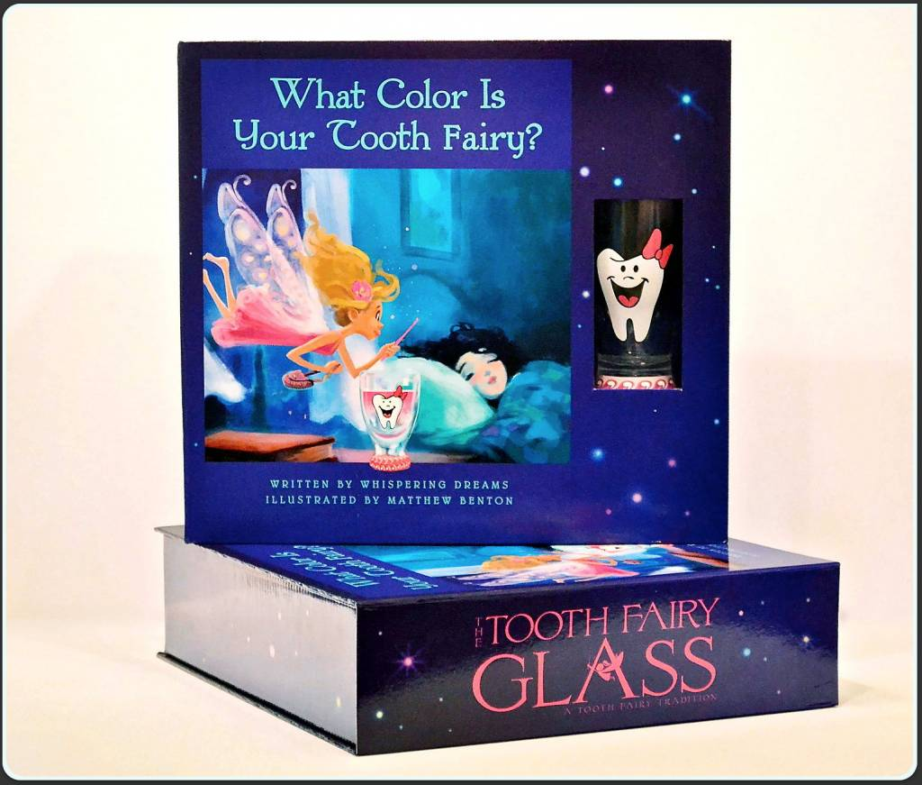 Boy's Tooth Fairy Glass Box Set