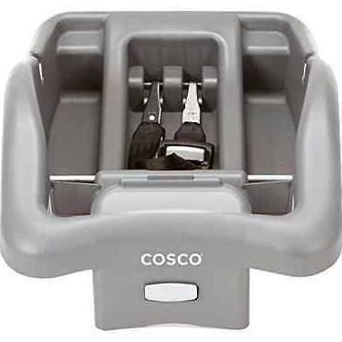 Cosco Light N Comfy Adjustable Base, Dark Gray