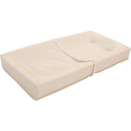 L.A. Baby Four-Sided Organic Cotton Changing Pad - 34-in., Tan/Natural