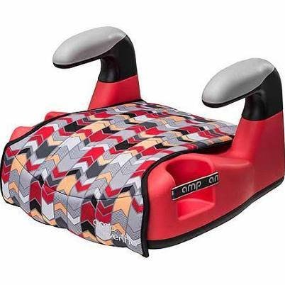 Evenflo AMP LX No Back Booster Car Seat - Hayden, Red