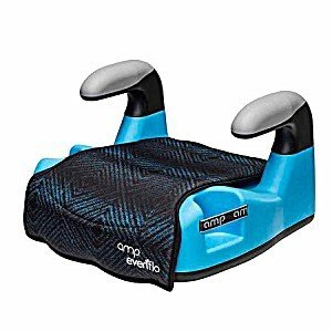 Evenflo Amp Lx No Back Booster Car Seat, Cameron