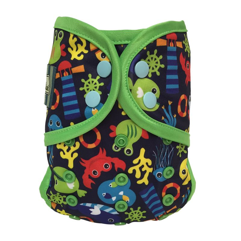 Bummis Swimmi Under the Sea Blue One-Size