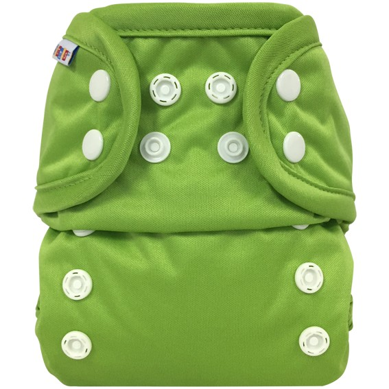 Bummis All-in-one One Size Diaper Green