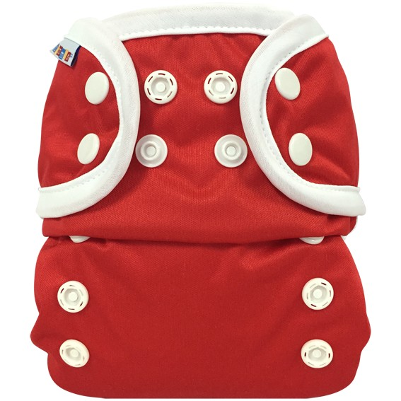 Bummis All-in-one One Size Diaper Red