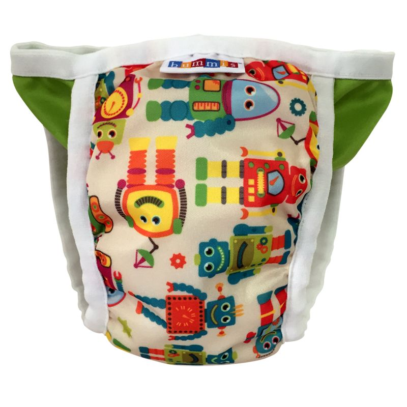 Bummis Potty Pant Medium Vintage Robot