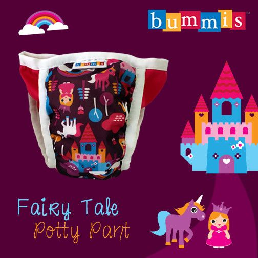 Bummis Potty Pant Medium Fairy Tale