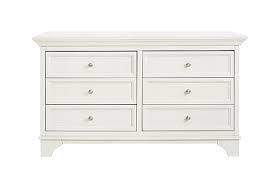 MDB Million Dollar Baby Arcadia Double Dresser - Dove (White)