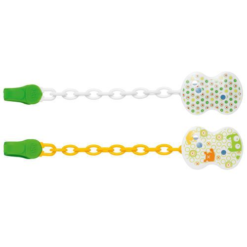 Chicco CHICCO Pacifier Clip NaturalFit-Green 0+