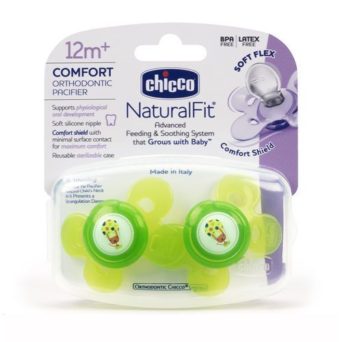 Chicco Chicco Pacifier NaturalFit 12+