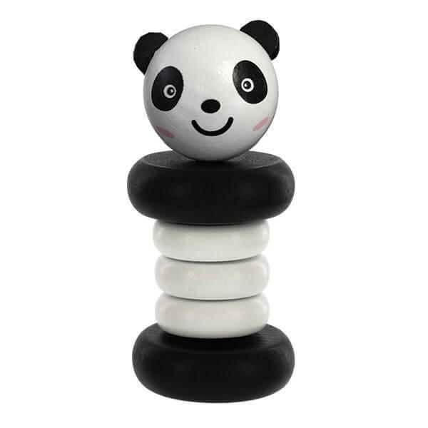 Svan Svan Panda Clacker Rattle Wooden Toy