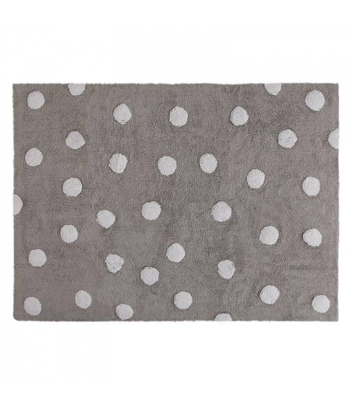 Lorena Canals USA, Inc Rug Polka Dots/Topos Tricolor Grey